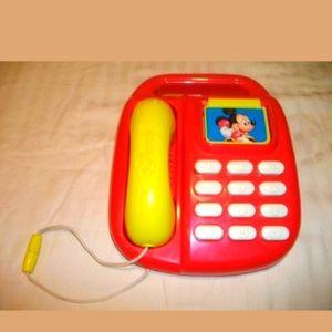 Vintage 1980s Disney Mickey call back phone